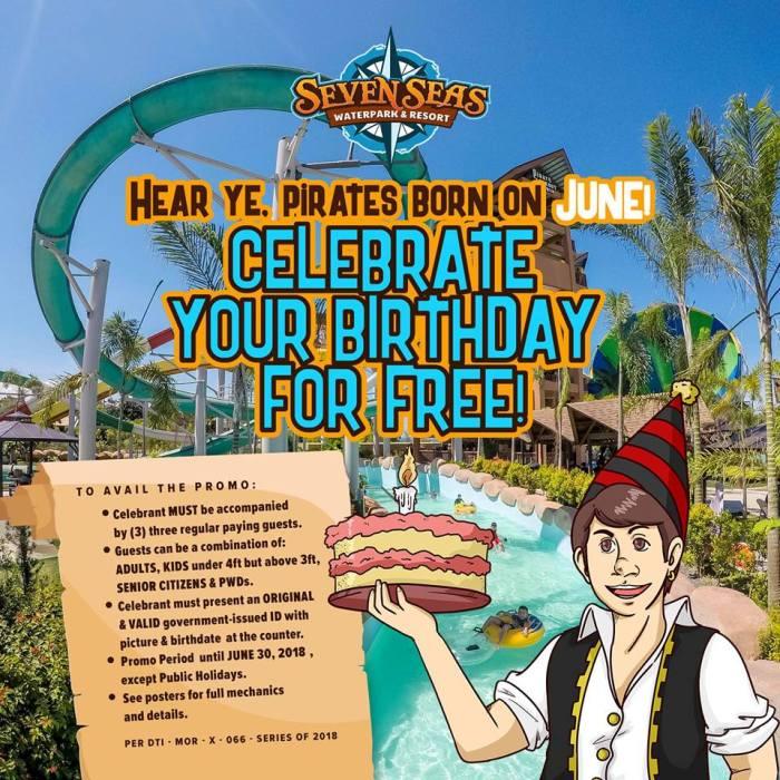 Seven Seas June Birthday Blowout Promo