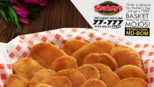 Shakey's FREE Basket of Mojos on Mother's Day FI