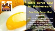 Sisig Sarap CDO 1st Anniversary FI