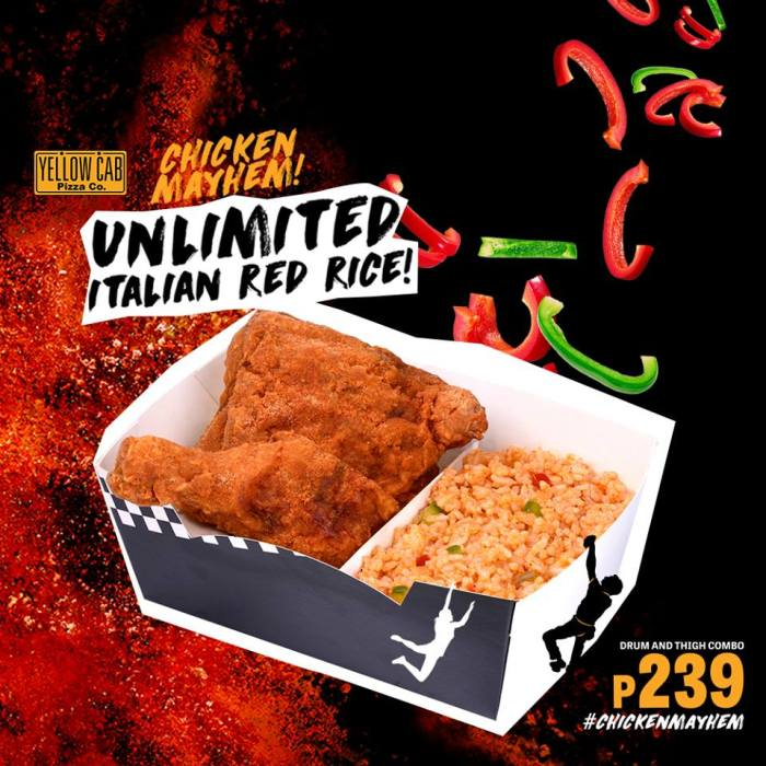 Yellow Cab Unlimited Italian Red Rice