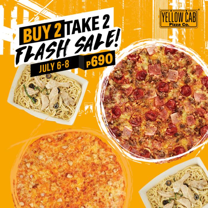 yellow payday flash sale july6-8