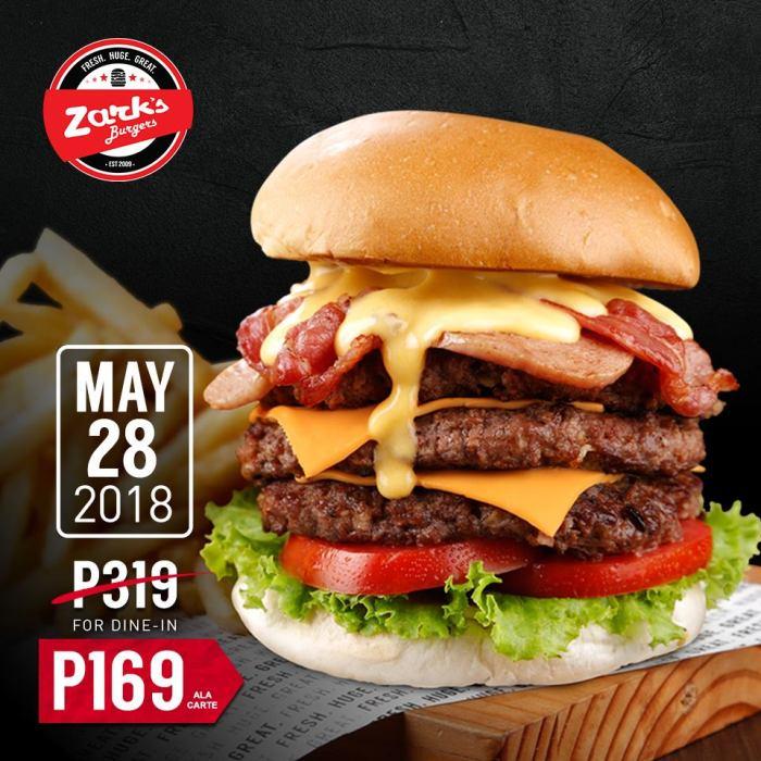 Zarks Burgers National Jawbreaker day
