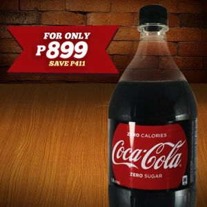 Shakey's Pizza-Mazing Deli-Deal 1.5L Coke Zero