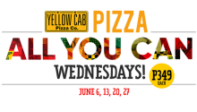 Al lYou Can Pizza Yellow Cab FI