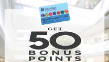 Apply for an SM Advantage Membership and Get 50 Bonus Points FI