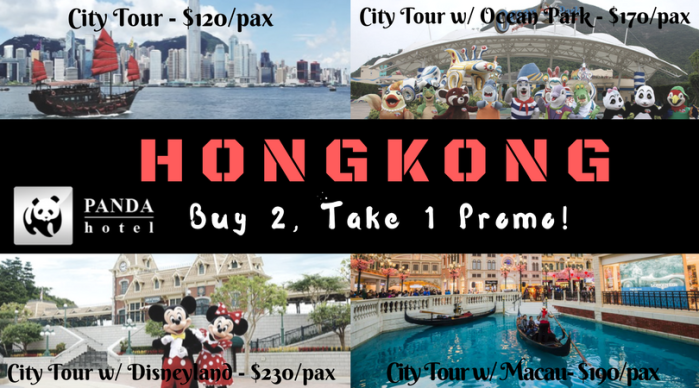CDO Ticket Express Buy 2 Take 1 at Hong Kong