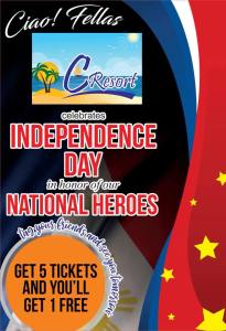 CResort Independence Day Promo