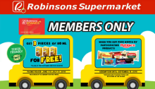 FREE Chuckie with Rebisco Crackers for Robinsons Rewards Members FI