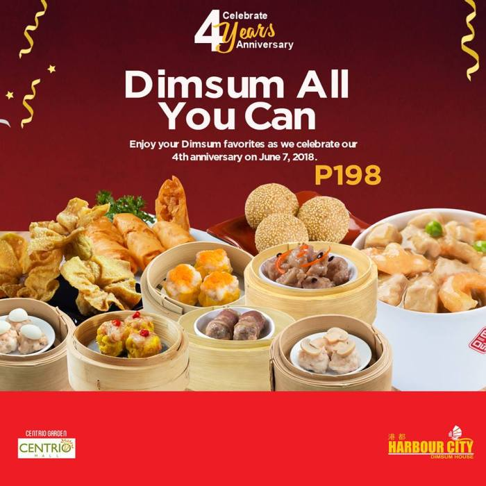 Harbour City Dimsum All You Can