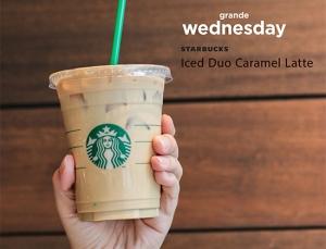 Iced Duo Caramel Latte