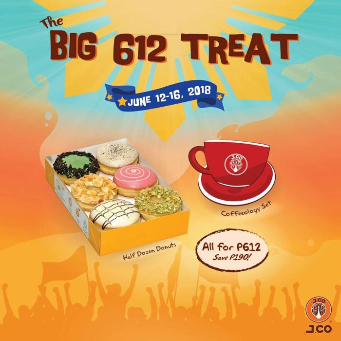 J.CO The Big 612 Treat