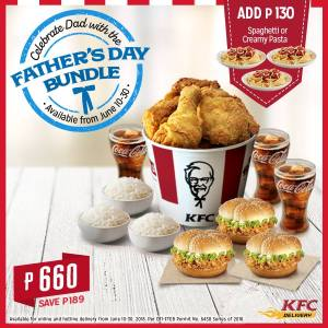 KFC Father's Day Bundle