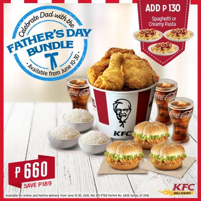 KFC Father's Day Bundle