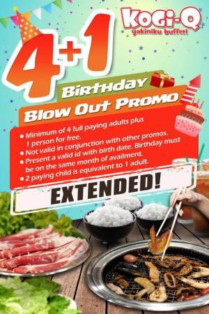 kogi-q Birthday Promo
