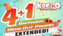 kogiq 4plus1 birthday blowout