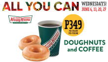 Krispy Kreme Doughnuts and Coffee All YouCan Wednesdays FI