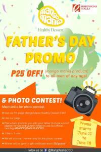 mango mania fathers day promo