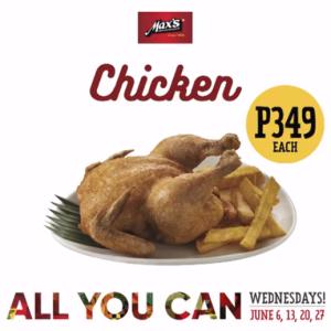 max unlimited chicken