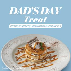 Pancake House Dad's Day Treat