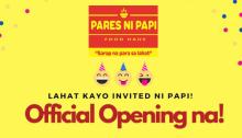 pares ni papi official opening FI
