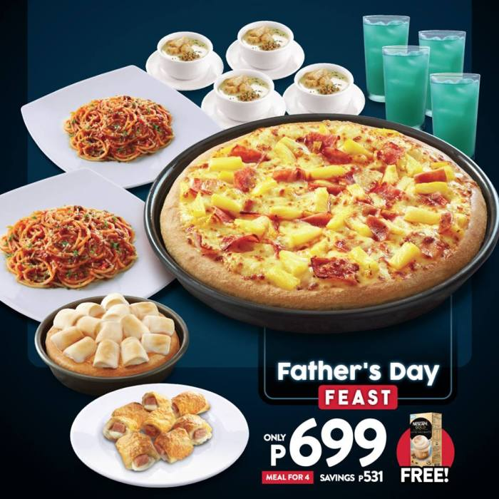 Pizza Hut Fathers Day Feast