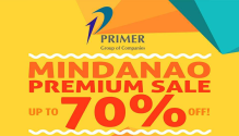 Primer Group of Companies Mindanao Premium Sale FI