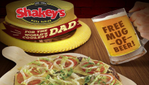 Shakey's Free Mug of Beer or Soda Father's Day Promo FI