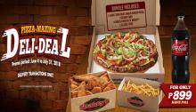 Shakeys Pizza Mazing Deli-Deal FI