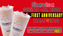 sharetea Anniversary Treat FI