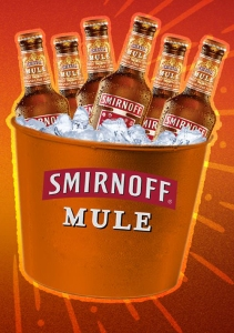 Smirnoff Mule bucket