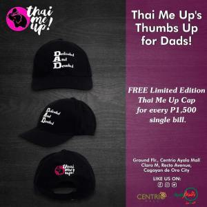 ThaiMeUp Limited Edition Cap Fathers Day Promo