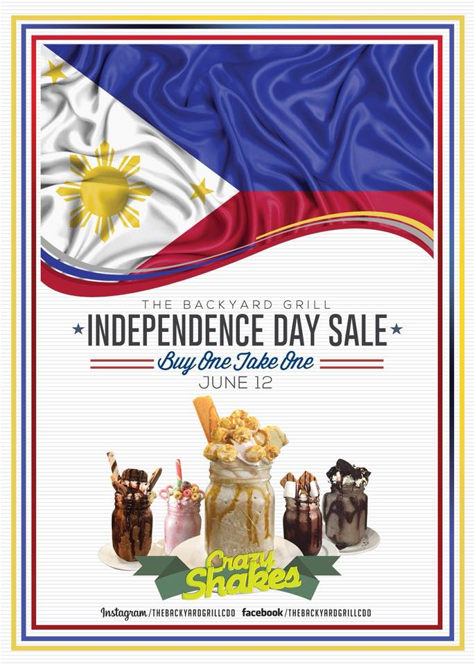 The Backyard Grill Independence Day Sale