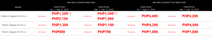 PAL mid-year sale to CDO flights