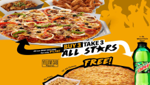 Yellow Cab Buy 3 Take 3 All Stars FI
