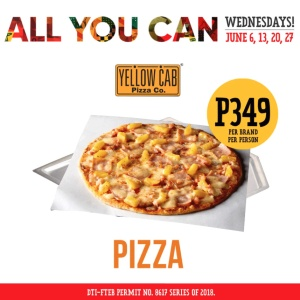 Yellow Cab Pizza All You Can Wednesdays