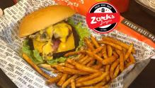 zarks burgers free upgrade FI