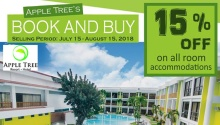 Apple Tree Resort and Hotel Book and Buy Promo FI
