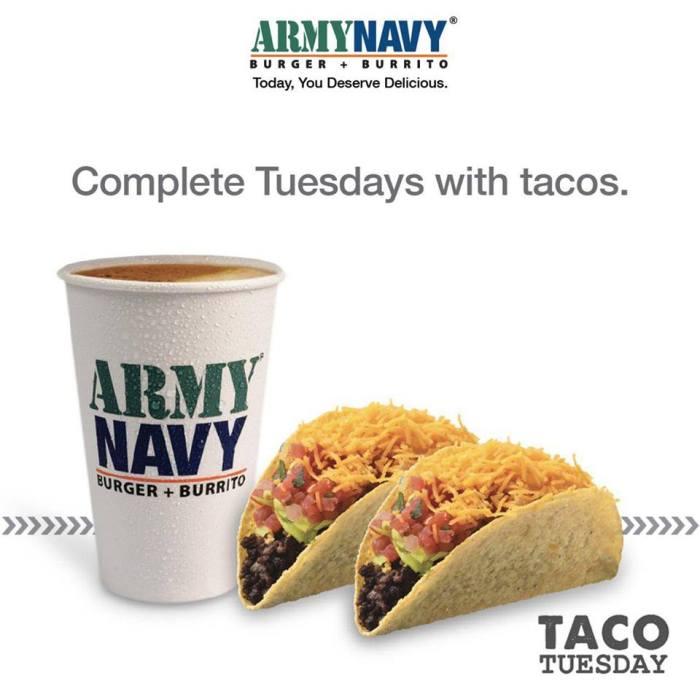 ArmyNavy Taco Tuesday