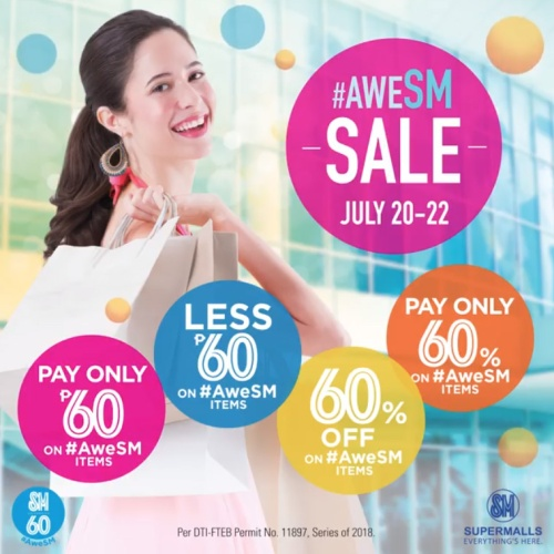 aweSMsale SM Supermalls