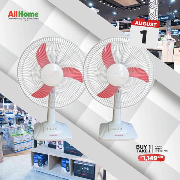 All Home buy 1 take 1 Desk fan aug1