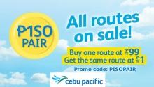 Cebu Pacific piso pair FI