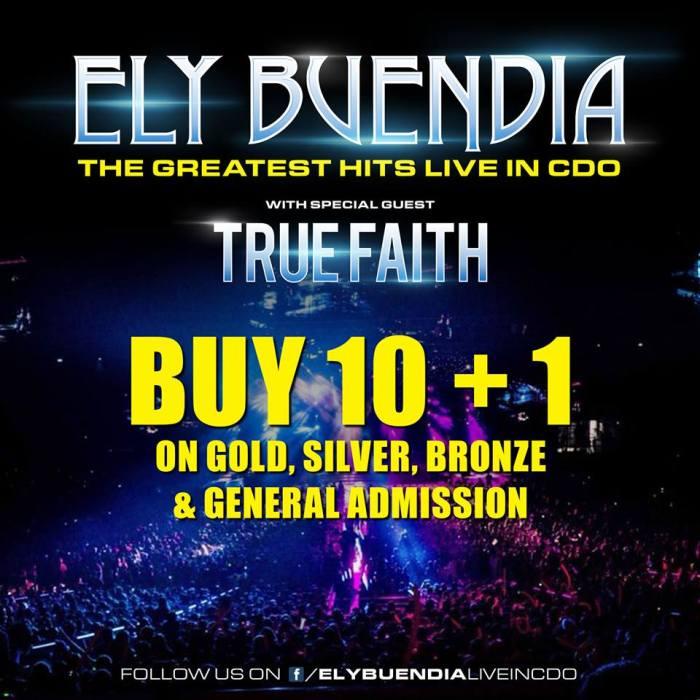 Ely Buendia Live in CDO 10 Plus 1