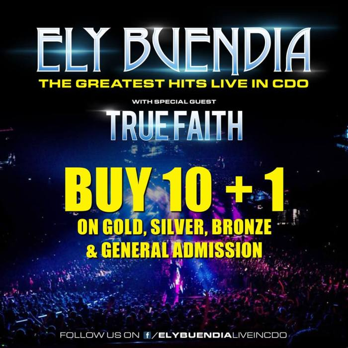 Ely Buendia Live in CDO 10 Plus 1