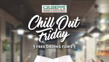 Giuseppe Pizzeria and Sicilian Roast CDO chill out friday FI