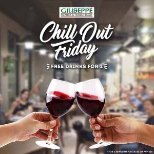 Giuseppe Pizzeria and Sicilian Roast CDO chill out friday