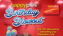 HappyPlus Red Ribbon Birthday Blowout FI2