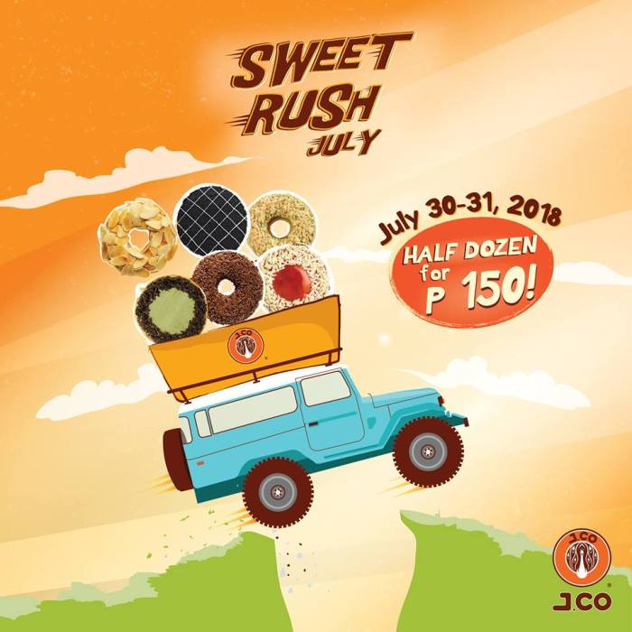 J.CO Sweet Rush July
