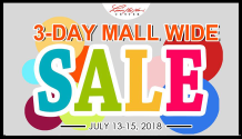 limketkai 3-day mall wide sale FI