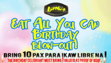 Loreto's Eat All You Can Birthday Blowout FI
