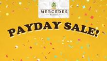 Mercedes Bakery Payday Sale FI
